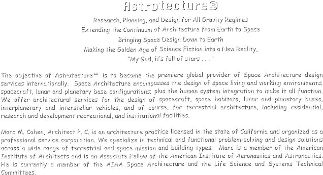 Astrotecture®